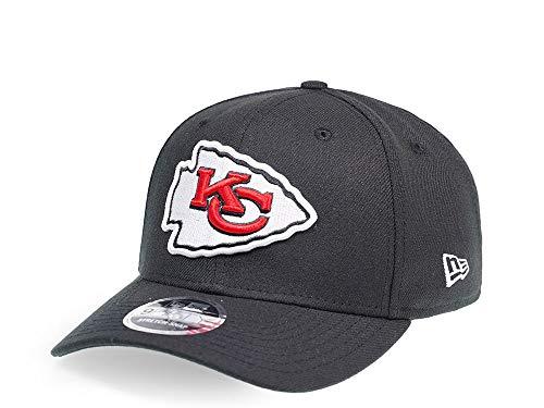New Era Kansas City Chiefs Black Edition 9Fifty Stretch Snapback Cap - NFL Kappe