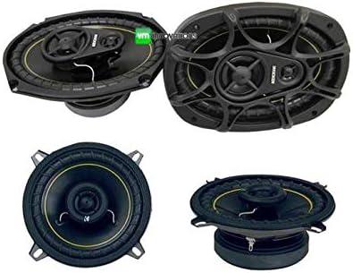"2) NEW KICKER DS693 6x9"" 280W Car Speakers + 2) KICKER DS525 5.25"" 140W Speakers"