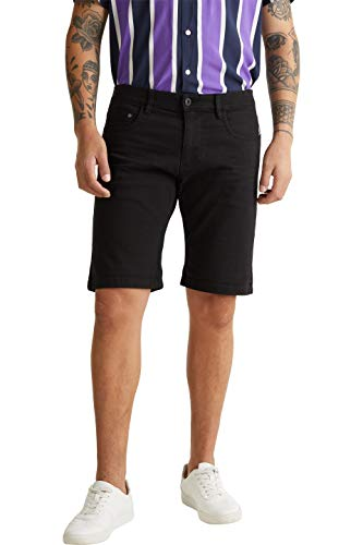 edc by ESPRIT Herren 030CC2C301 Shorts, 001/BLACK, 36