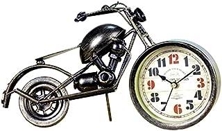 GJHK Horloges Rétro, Motos Créatives, Ameublement À Domicile, Artisanat en Métal, Cadeaux d'anniversaire, Horloges Et Horl...