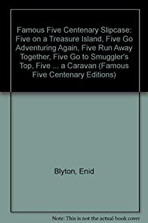 "Famous Five Centenary Slipcase: ""Five on a Treasure Island"", ""Five Go Adventuring Again"", ""Five Run Away Together"", ""Five ..."