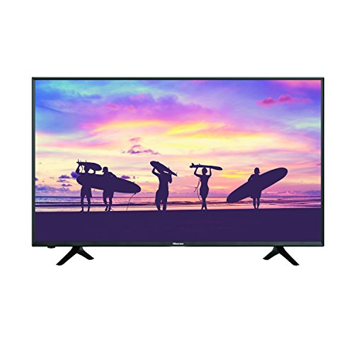 Hisense 50H6D Smart TV 50', 3840 x 2160, Ultra HD 4K, HDR, 4 x HDMI, 3 x USB 3.0, color Negro