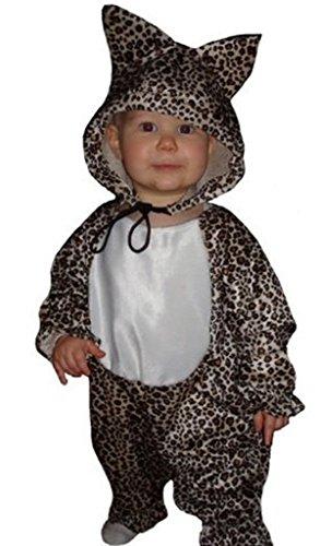 Ikumaal Leoparden-Kostüm, To11 Gr. 80-86, für Klein-Kinder, Baby Babies, Leoparden-Kostüme Leopard Kinder-Kostüme, Fasching Karneval, Karnevalskostüme, Faschingskostüme, Geburtstags-Geschenk Kind