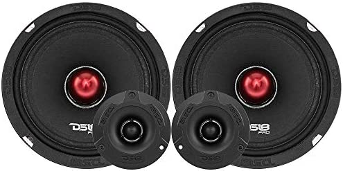 DS18 PRO X6 4BMPK Mid and High Complete Package Includes 2X Midrange Loudspeaker 6 5 and 2X product image