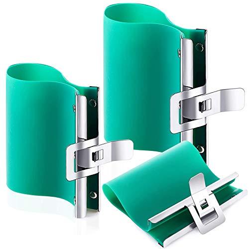 3 Pcs Mugs Clamp,3D Sublimation Silicone Mug Wrap,Sublimation Rubber Clamp for 11oz&15oz Mugs and 12oz Latte Mug Wrap, Heat Transfer Tape, Heat Vinyl Press Tape for Mugs Printing