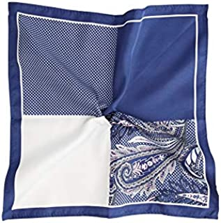 Tarocash Men's 4 Way Pocket Square for Going Out Smart Occasionwear