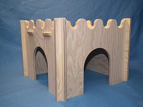 Praktisches Kaninchen Meerschwein Haus leicht zerlegbar Meerschwein Burg