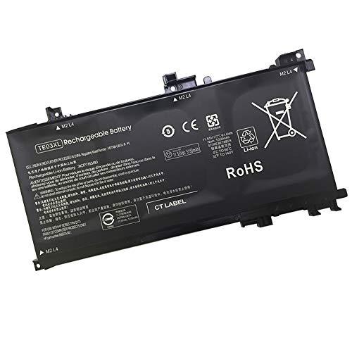 TE03XL Repuesto Batería para HP WASD 15-AX015TX Omen 15-ax000 849910-850 HSTNN-UB7A TPN-Q173 (11.55V 61.6Wh 5150mAh)