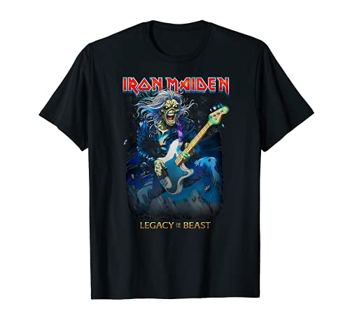 Iron Maiden - Eddie On Bass Maglietta