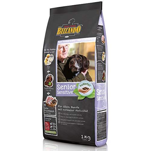 Belcando Senior Sensitive [1 kg] Hundefutter | Trockenfutter für ältere & empfindliche Hunde | Alleinfuttermittel für ältere Hunde Aller Rassen