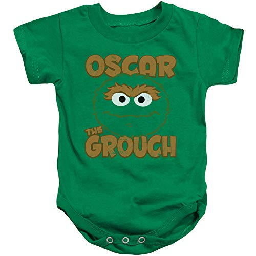 Infant: Sesame Street- Oscar Sees You Onesie Infant Onesie 1 x 1in