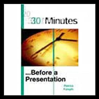 30 Minutes Before a Presentation (Executive Summary) cover art