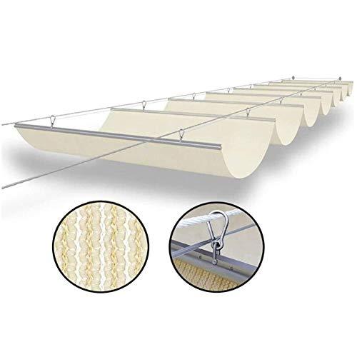 LH-RUG Roof Awning Outdoor Decoration pergola Deck Gazebo Patio Driveway,48 Sizes Custom Size