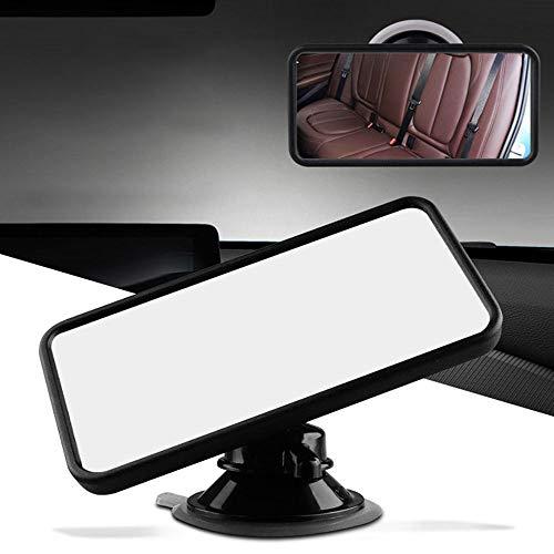 HYM Espejo Retrovisor del Espejo Retrovisor del AutomóVil del Espejo Retrovisor del Auto para Observar FáCilmente Cada Movimiento del Bebé, Seguridad Y Gran Angular Rotativo De 360 Grados