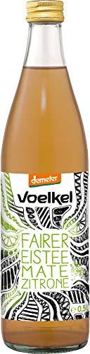 Voelkel Bio fairer Eistee Mate Zitrone, demeter (1 x 0,50 l)