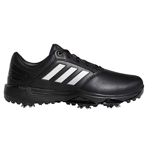 adidas mens Golf Shoes 360 Bounce 2.0 Wide Fit Waterproof Golf Shoes - EF5564