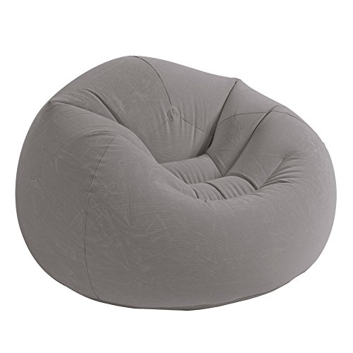 Intex Beanless Bag™ Silla Inflable, 107 cm x 104 cm x 68.5 cm, beige