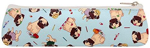 Fun Novelty Pug Pencil Case