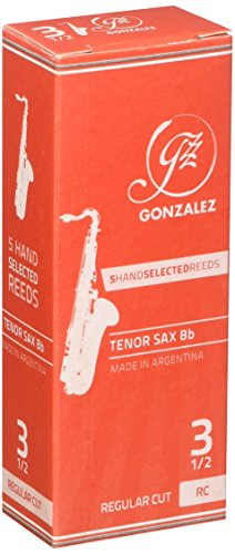 Conn-Selmer, Inc. tsaxg35 Tenor Saxophon Gonzalez, Rohrblatt, 5/Box, 3.5 – Orange Box