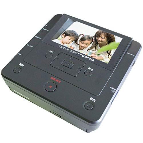 『とうしょう メディア レコーダー 録画・録音かんたん録右ェ門 CD/DVDダビング DMR-0720』の1枚目の画像