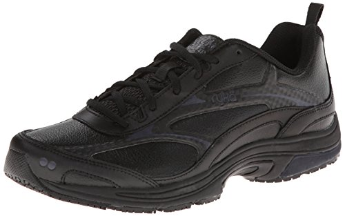 RYKA Women's Intent XT 2 SR Trail Running Shoe,Black/Chrome Silver,10 W US
