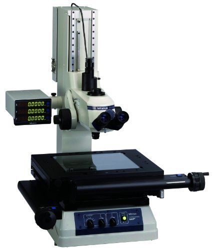 Mitutoyo 64PKA093A MF-A2017D Measuring Microscope Without Z-Axis Scale, 200mm x 170mm XY Travel Stage, 30x Magnification, Led Illumination Unit and Binocular Tube