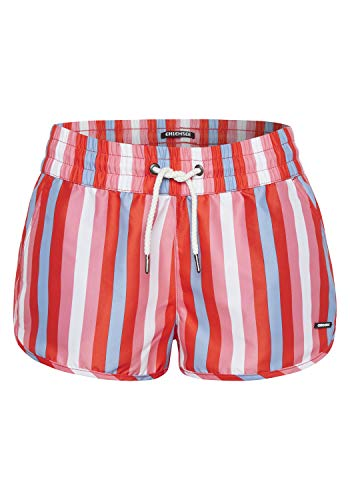 Chiemsee Damen Swimshorts, Pink/White AOP, S