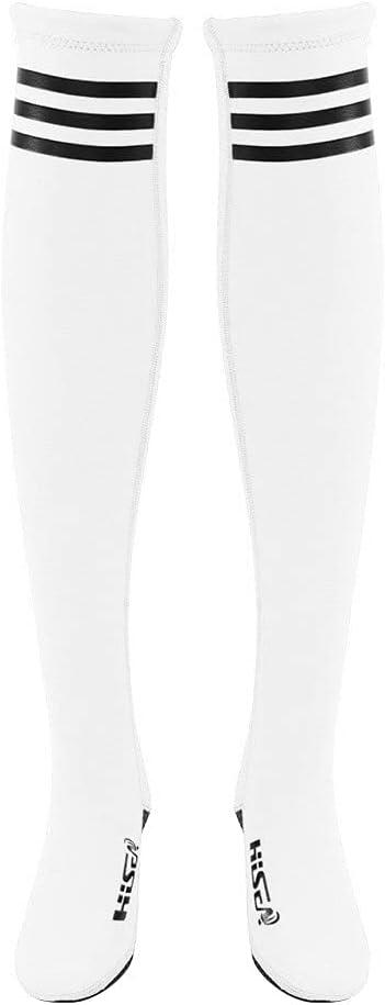Owlike Neoprene High quality new High Leg Stocking Socks New arrival Woman Stripe Tube Protec