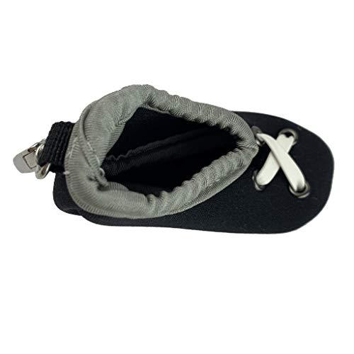 Injoyo Golf Ball Holder Mini Creative Shoes 2-Ball Storage Pouch Contenedor Paquete Bolsillo