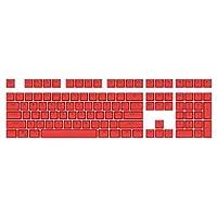 DIYキーキャプス 108ピースユニバーサルABSバックライトソリッドカラーキーキャップメカニカルキーボードアクセサリーフル104 KE8プロフェッショナルプレーヤー アクセサリー
