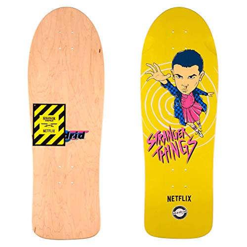 Madrid–Tabla de skate con diseño de la serie Netflix Stranger Things 2, Eleven Yel, Pumpkin, 29,5
