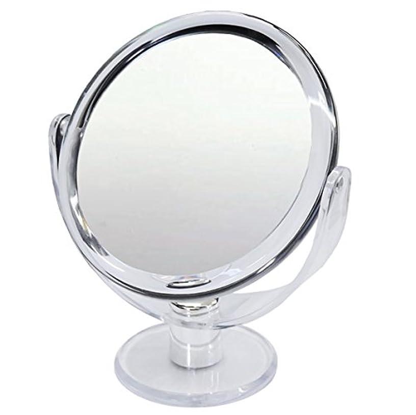 シフト変色する全滅させる10倍 拡大鏡 スタンドミラー 等倍鏡と10倍鏡の両面鏡