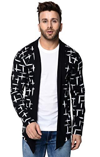 DENIMHOLIC Men's Cotton Cardigan