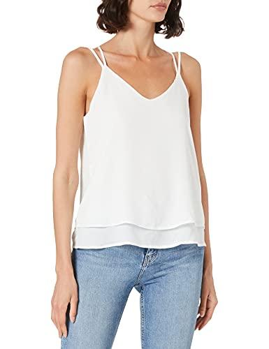 Vero Moda VMPOEL Singlet GA Noos Camiseta sin Mangas, Cloud Dancer, XS para Mujer