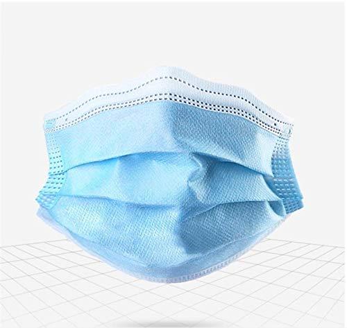 Protección desechable a prueba de polvo y transpirable de 3 capas de tela no tejida adecuada para todos-20PCS