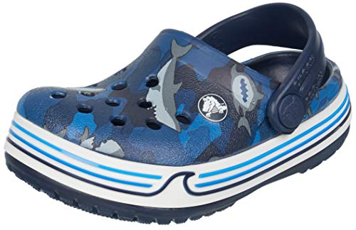 Crocs Kinder, Mädchen, Jungen' Crocband Shark Clog Children Girls Boys