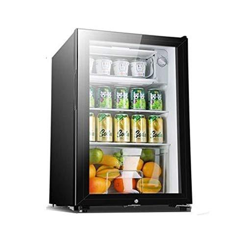 LJJOO Bebidas Enfriador Bebida Refrigerador con Cerradura Nevera Barra de Vino Gabinete de Vino Hcos 06 Frigoríficos Mini