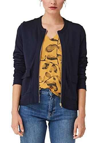 s.Oliver Damen 14.908.43.2697 Sweatshirt, Blau (Navy 5959), (Herstellergröße: 40)