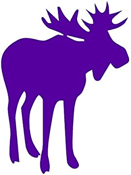 Vinyl Decal Sticker Bull Moose Antler ebn467 Multiple Color /& Sizes