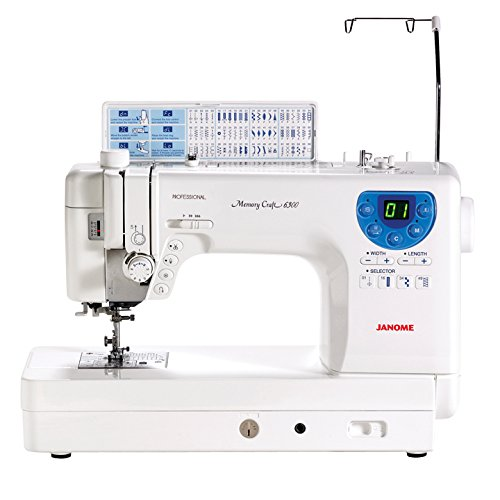Janome Memory Craft 6300 Professional Sewing & Quilting Machine
