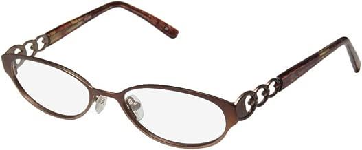 Thalia Pura Womens/Ladies Cat Eye Full-rim Demo Lens Contemporary Eyeglasses/Spectacles