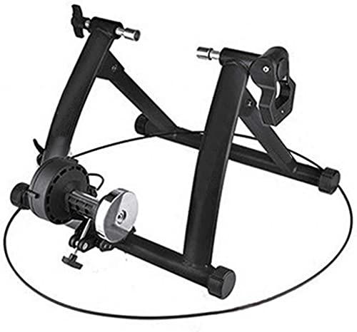 QMZDXH Bicicleta de Entrenamiento Plegable de Acero con Cierre Rápido, Base para Rueda Delantera, para Entrenamiento Bicicleta 26 a 28 Pulgadas, para Casa O Interior