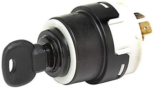 HELLA 6JB 003 959-021 Zünd-/Startschalter - Drehbetätigung - 12V/24V - 10-polig - Ein/Aus Schalter/starten/vorglühen