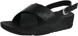 Fitflop Women's Lulu Cross Sandal-Leather