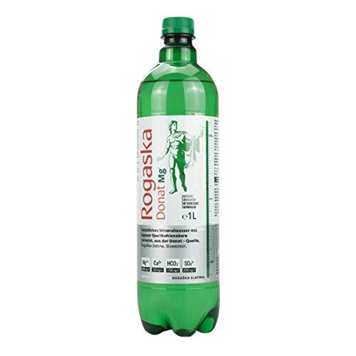 Rogaska Donat Mg Mineralwasser inkl. Pfand, 1 L Flasche