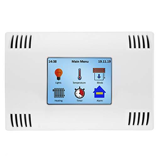 AZDelivery AZ-Touch MOD Smart Home Kit de Montaje en Pared con Pantalla Táctil TFT LCD de 2,4 pulgadas, Controlador Táctil SPI XPT2046 compatible con ESP8266 y ESP32 con E-Book incluido!