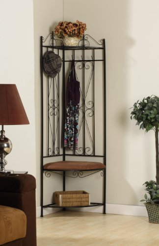 Kings Brand Corner Rack & Bench