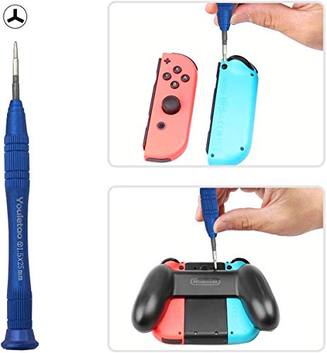 Youletao Y Screwdriver for Nintendo Switch, Y Tip 1.5 Y00 Triwing Tri Point Screwdriver Set Tool Kit for Nintendo Switch Joy-Con Controller Repair and Samsung Gear S3 Frontier Screwdriver
