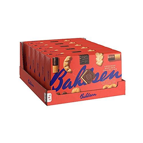 Bahlsen Hermann Bahlsen Collection - 6er Pack - Gebäck- und Waffelmischung mit Vollmilchschokolade und edelherber Schokolade (6 x 161 g / 966 g)
