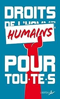 Droits humains pour tou·te·s par Géraldine Franck
